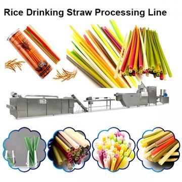 Hot Selling Full Automatic Extruded Italian Pasta Macaroni Making Machine Rice Straw Making Machine