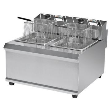 Bn-902 2-Tank & 2-Basket Commercial Small Luxury Fryer Electric Deep Fryer