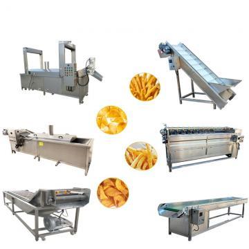 Factory Frying Equipment Fresh Frozen French Fries Making Machine